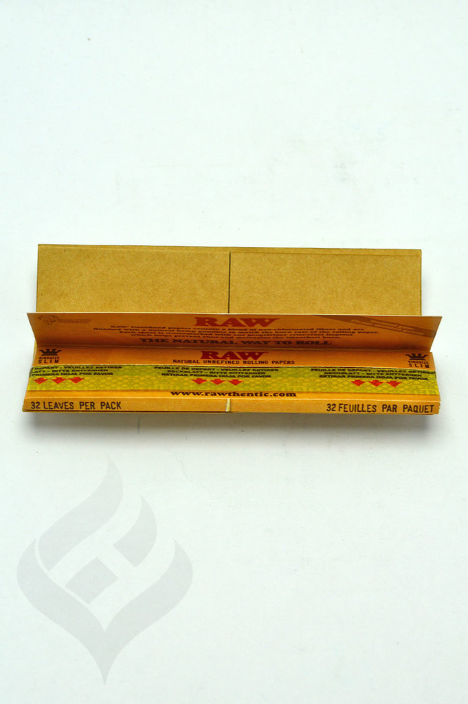 RAW Connoisseur King Size Rolling Papers w/Tips