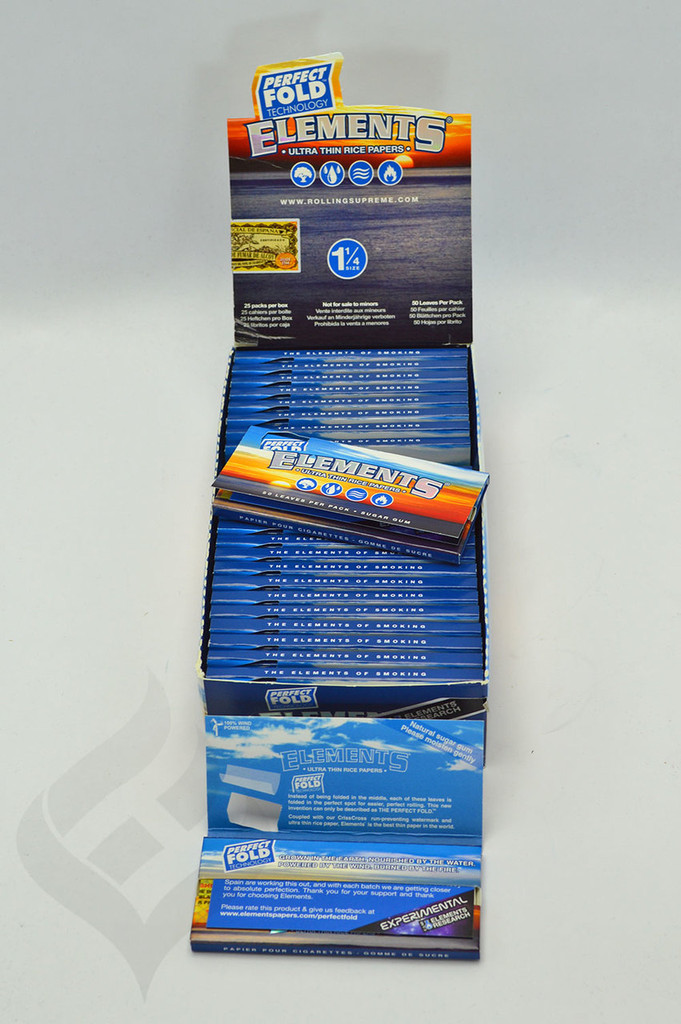 "Elements Perfect Fold 1 1/4"" Rolling Papers"