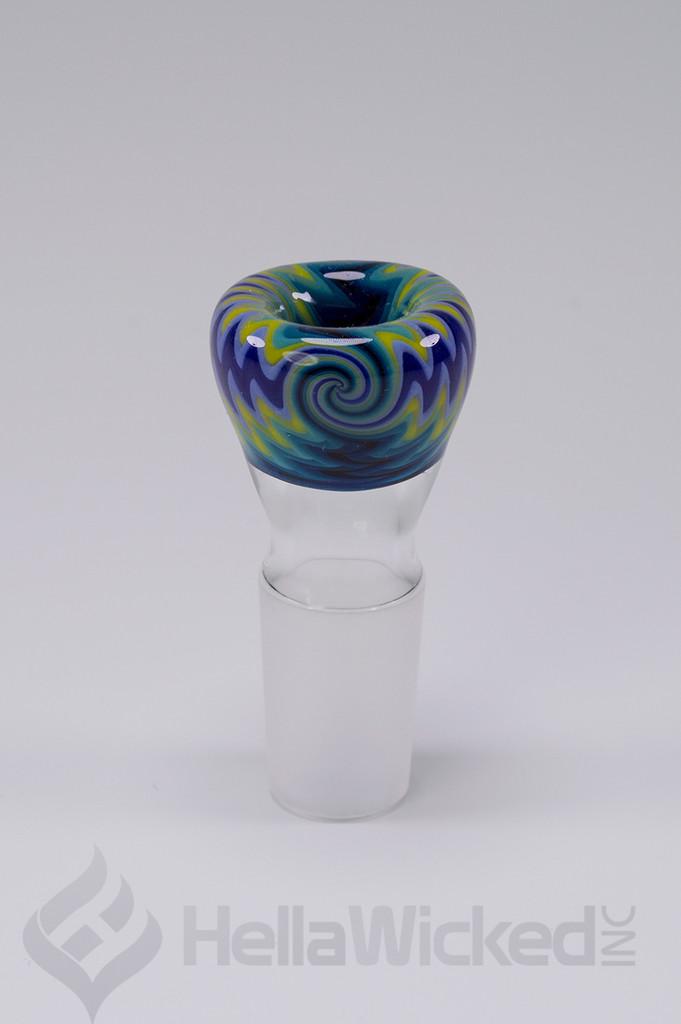 Fogz Glass BluePurp Bubbler