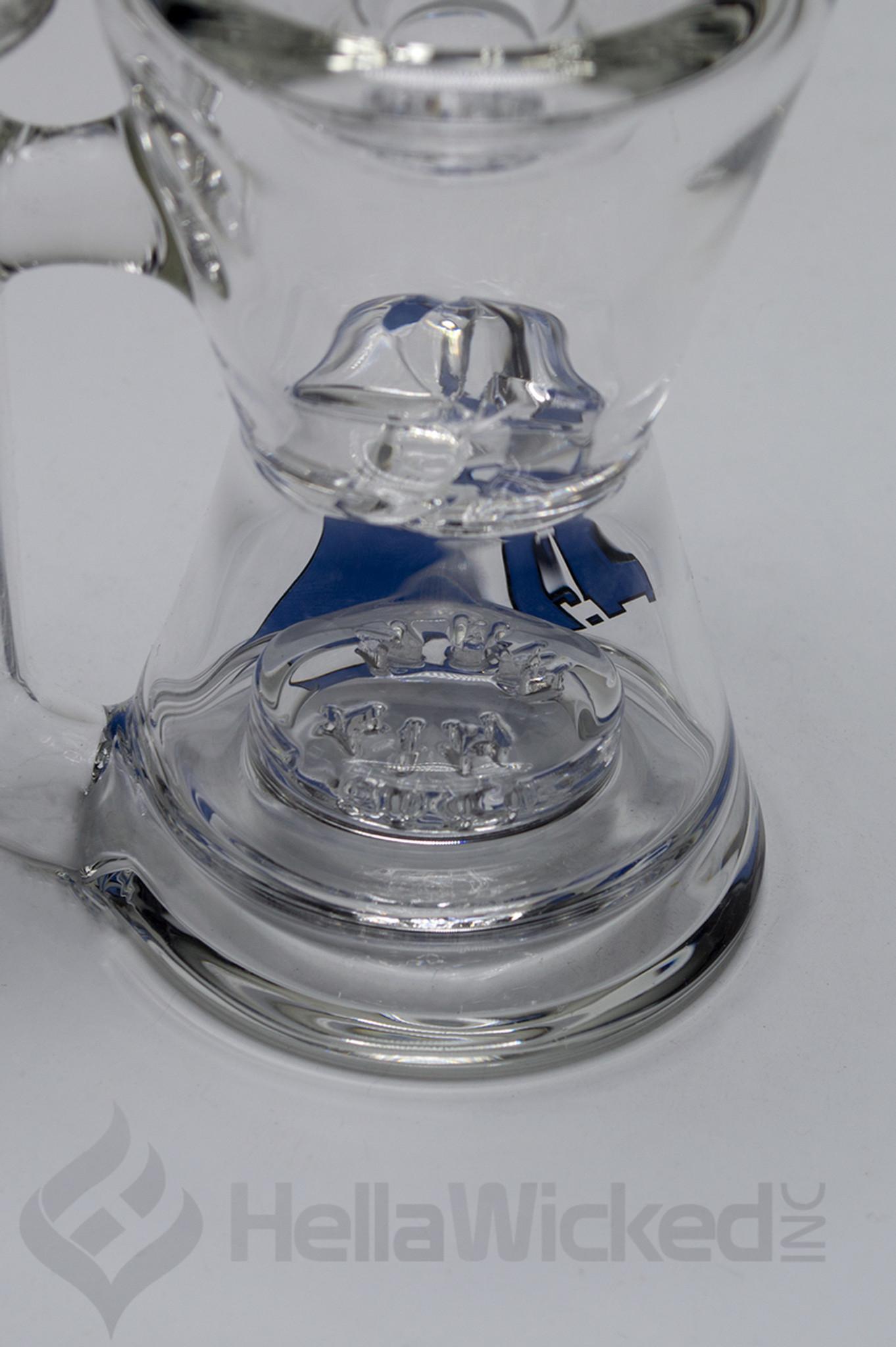 Hitman Glass Mini Turbine Hourglass Rig