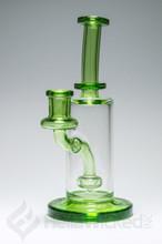 FatBoy Glass Green Showerhead Rig