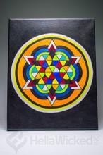Sacred Geometry Canvas 1