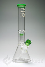 Flo Glass Showerhead Beaker - Green
