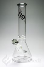 Flo Glass 50mil Beaker - Black Smoke