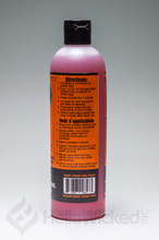 Randy's Orange Label - Natural Citrus Cleaner 12fl. oz Back of Label