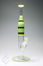 HVY Glass 32mm Bong - Green
