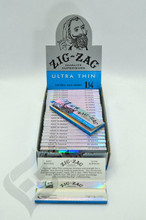 "Zig Zag Ultra Thin 1 1/4"" Rolling Papers"