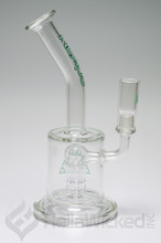 Nexus Glass Fat Can 6 Tree Bubbler Rig