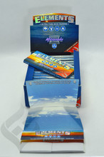 Elements Aficionado King Size Slim Rolling Papers with Tips