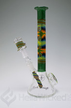 "Fogz Glass x Gordo Scientific Worked Mini ""Ice Cream Kid"" Beaker Rig"