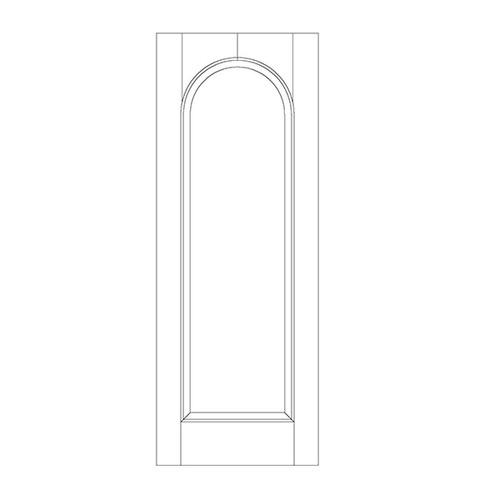 1-Panel Wood Door (DR1200)