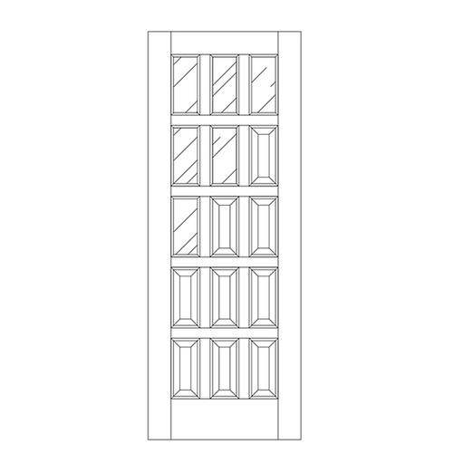 Glass Door (DG15020)