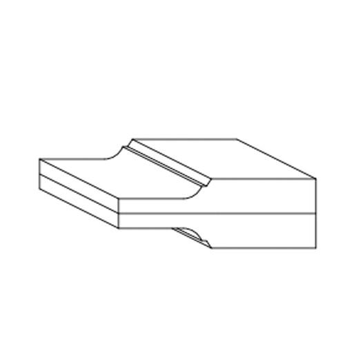 Panel Profile - Cove Double Hip 2
