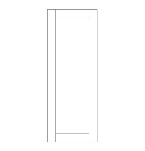 Single Rustic Wood Door (RS1000)