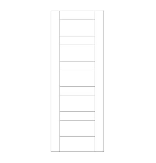 Flat Panel Wood Door (DM5000)