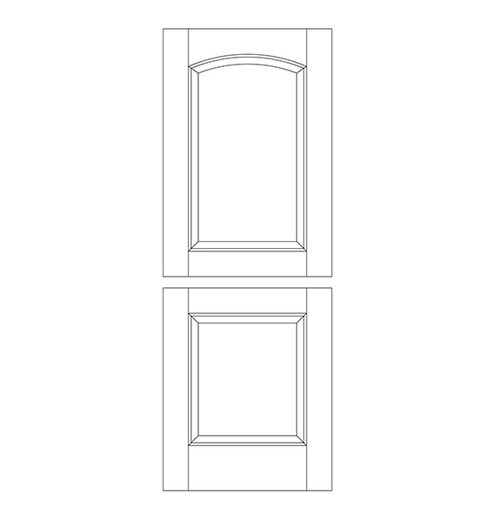 Wood Dutch Door (DD2100)
