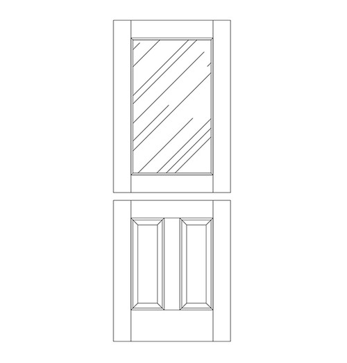 Wood Dutch Door (DD3000)
