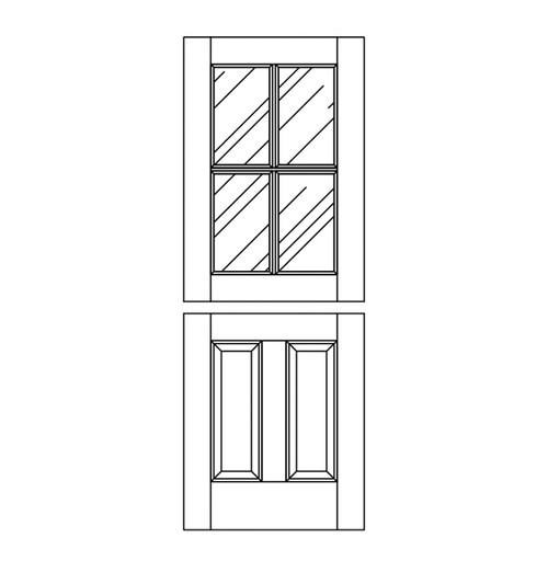 Wood Dutch Door (DD6000)