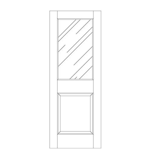 Glass Door (DG2000)