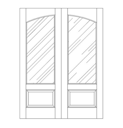 Glass Door (DG2110CA)