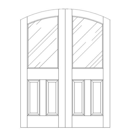 Glass Door (DG3500CA)