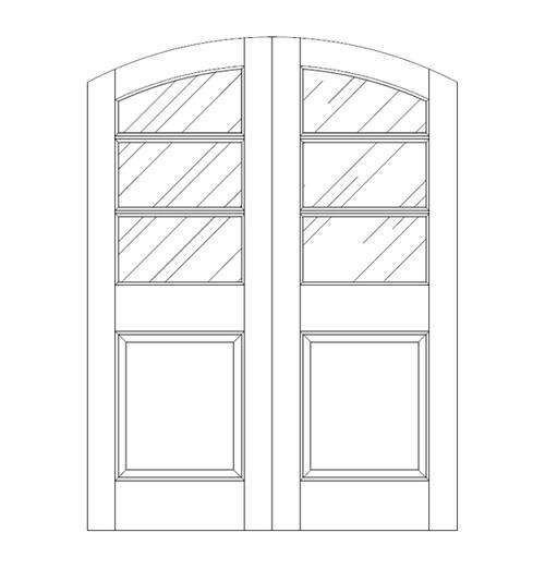 Glass Door (DG4530CA)