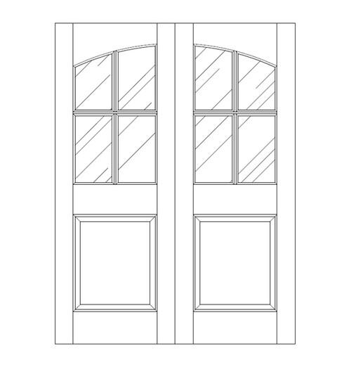 Glass Door (DG5100CA)