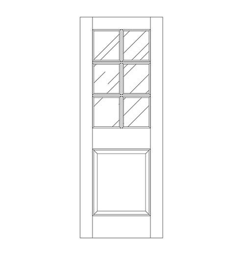 Glass Door (DG7000)