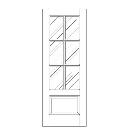 Glass Door (DG7010)