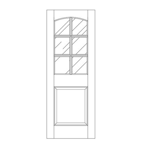 Glass Door (DG7100)