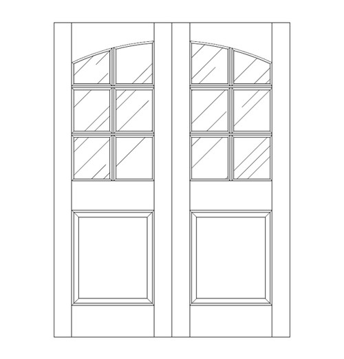 Glass Door (DG7100CA)