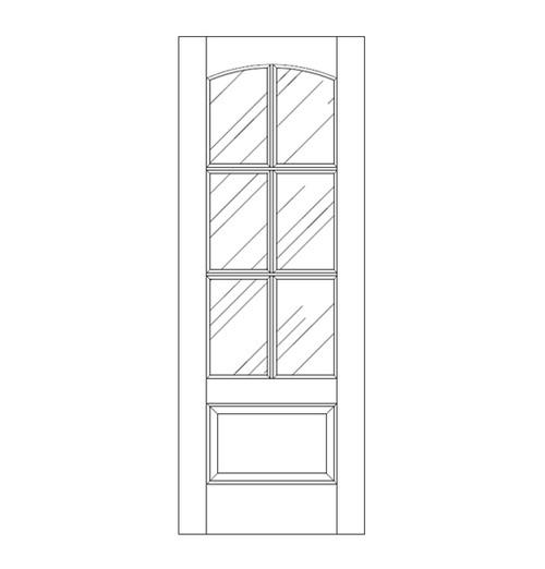 Glass Door (DG7110)