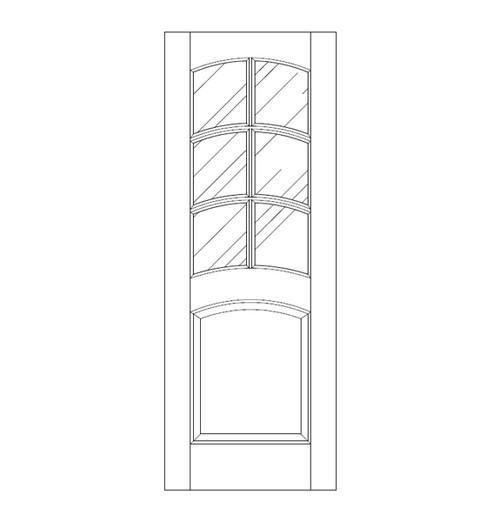 Glass Door (DG7120)