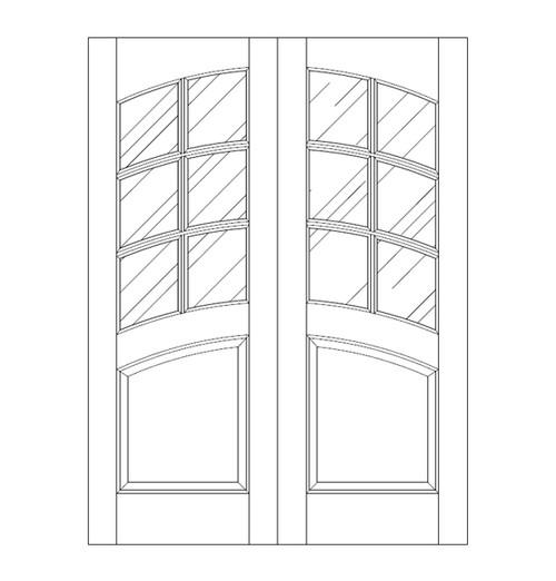 Glass Door (DG7120CA)