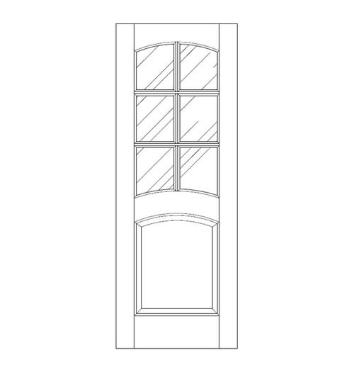 Glass Door (DG7150)