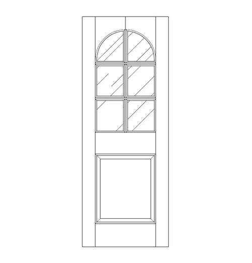 Glass Door (DG7200)