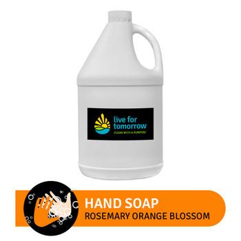 Hand Soap, Rosemary Orange Blossom, 3.8L | 1G