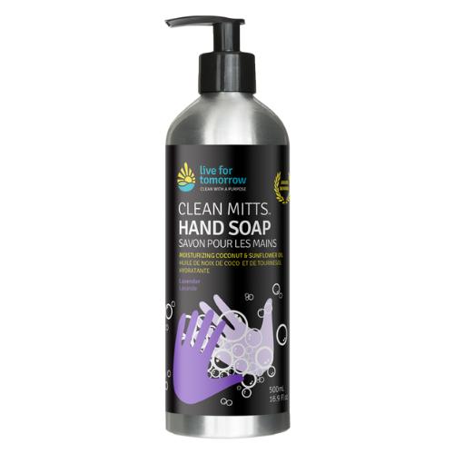 Hand Soap, Lavender, with Coconut & Sunflower Moisturizer, 500mL I 16.9fl oz