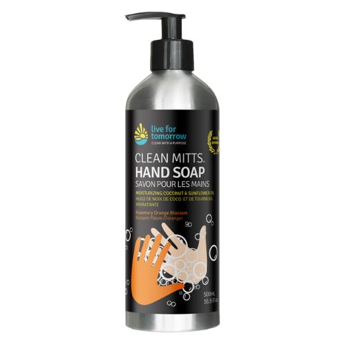 Hand Soap, Rosemary Orange Blossom, with Coconut & Sunflower Moisturizer, 500mL I 16.9fl oz