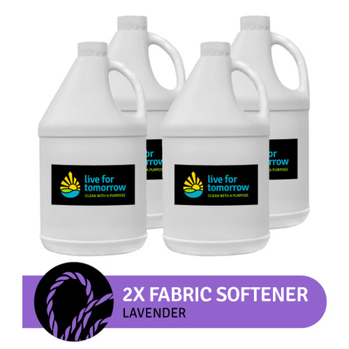 2x Fabric Softener, Lavender, 120 loads, 3.8L I 1G, Case of 4