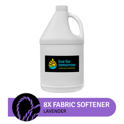 8x Fabric Softener, Lavender, 380 loads, 3.8L I 1G