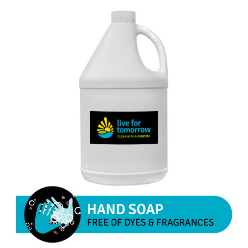 Hand Soap, Unscented, with Coconut & Sunflower Lipid Enhancer, 3.8L | 1G