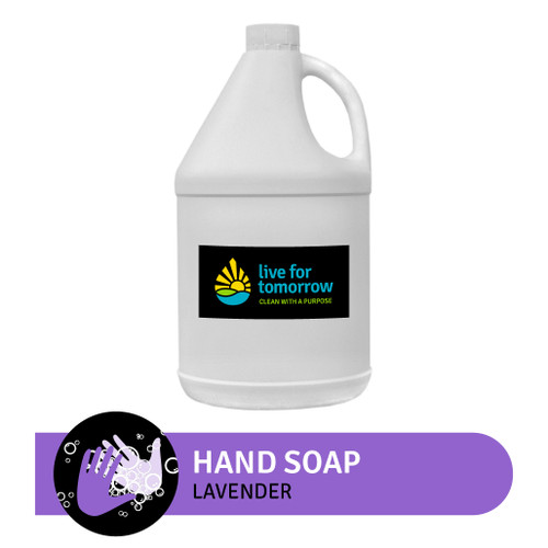 Hand Soap, Lavender, with Coconut & Sunflower Lipid Enhancer, 3.8L | 1G