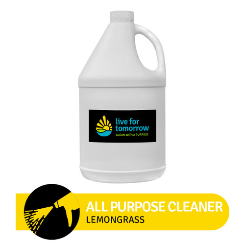 All Purpose Cleaner, Lemongrass, 3.8L I 1G