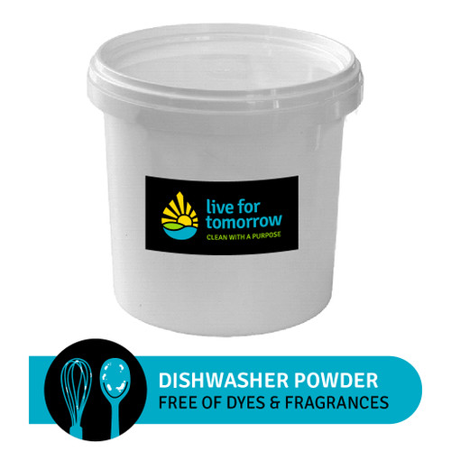Dishwasher Powder, Unscented, 670 loads, 10L | 2.6G