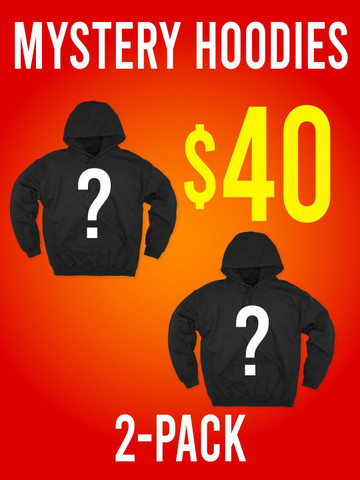 2 HOODIES • Mystery Box