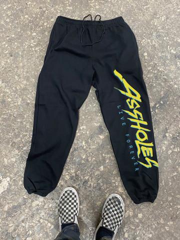 ALF CYBERPUNK • Black Sweatpants