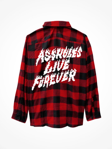 ALF FLAMES • Flannel Red/Black