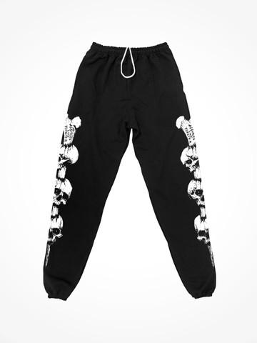 ALF SPIKE • Black Sweatpants