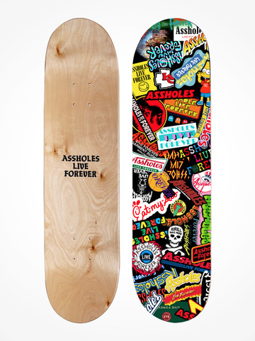 ALF STICKERS • Canadian Maple Skate Deck